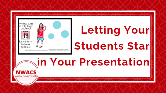 Letting Your Students Staff in Your Presentation