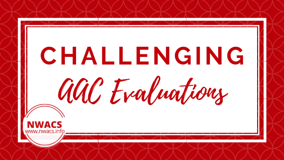 Challenging AAC Evaluations