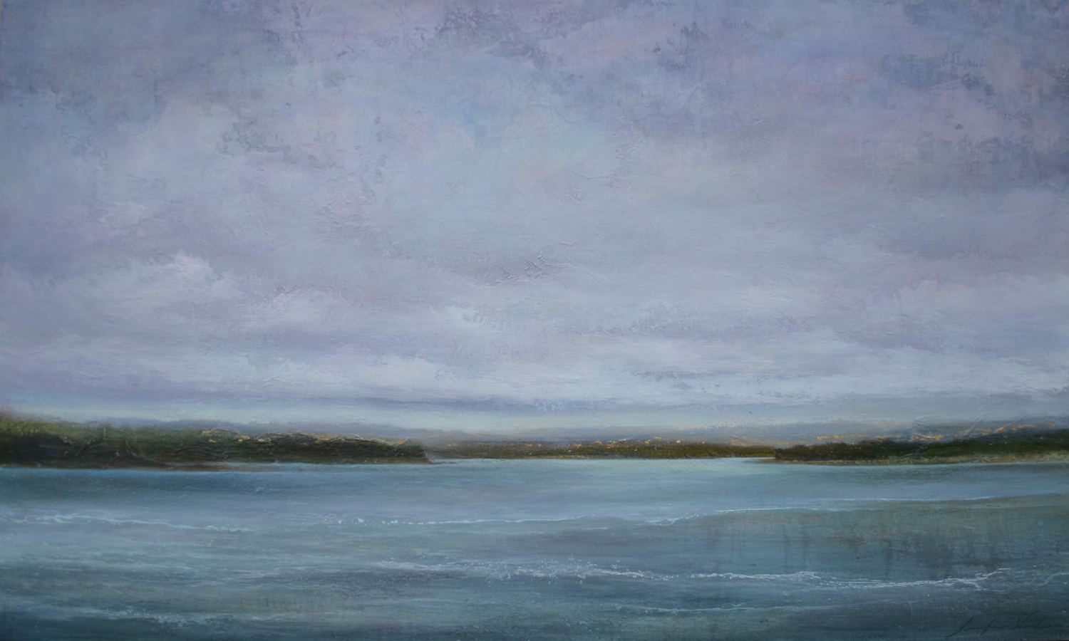 "On the Water, 36""x60"", sold"