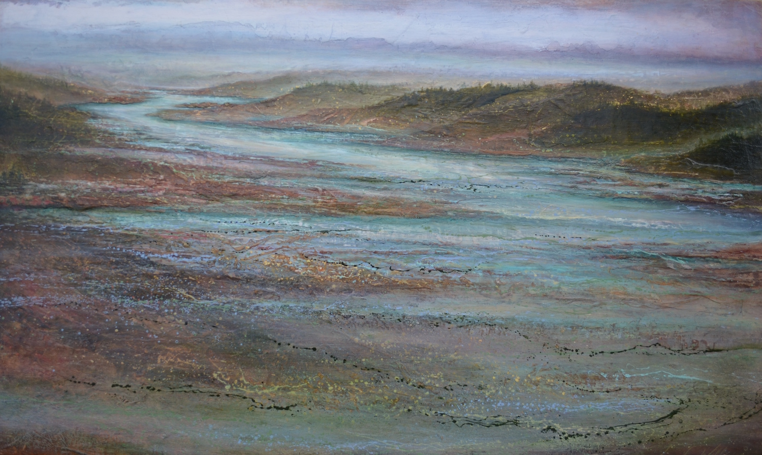 "Path Finder, 36""x 60"", sold"