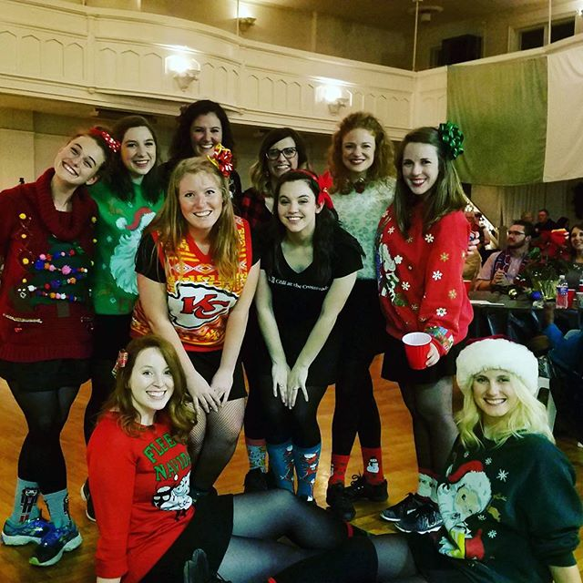 We had a blast helping with the first Christmas Ceili at the Irish Center! We look forward to more at the new hall for years to come!