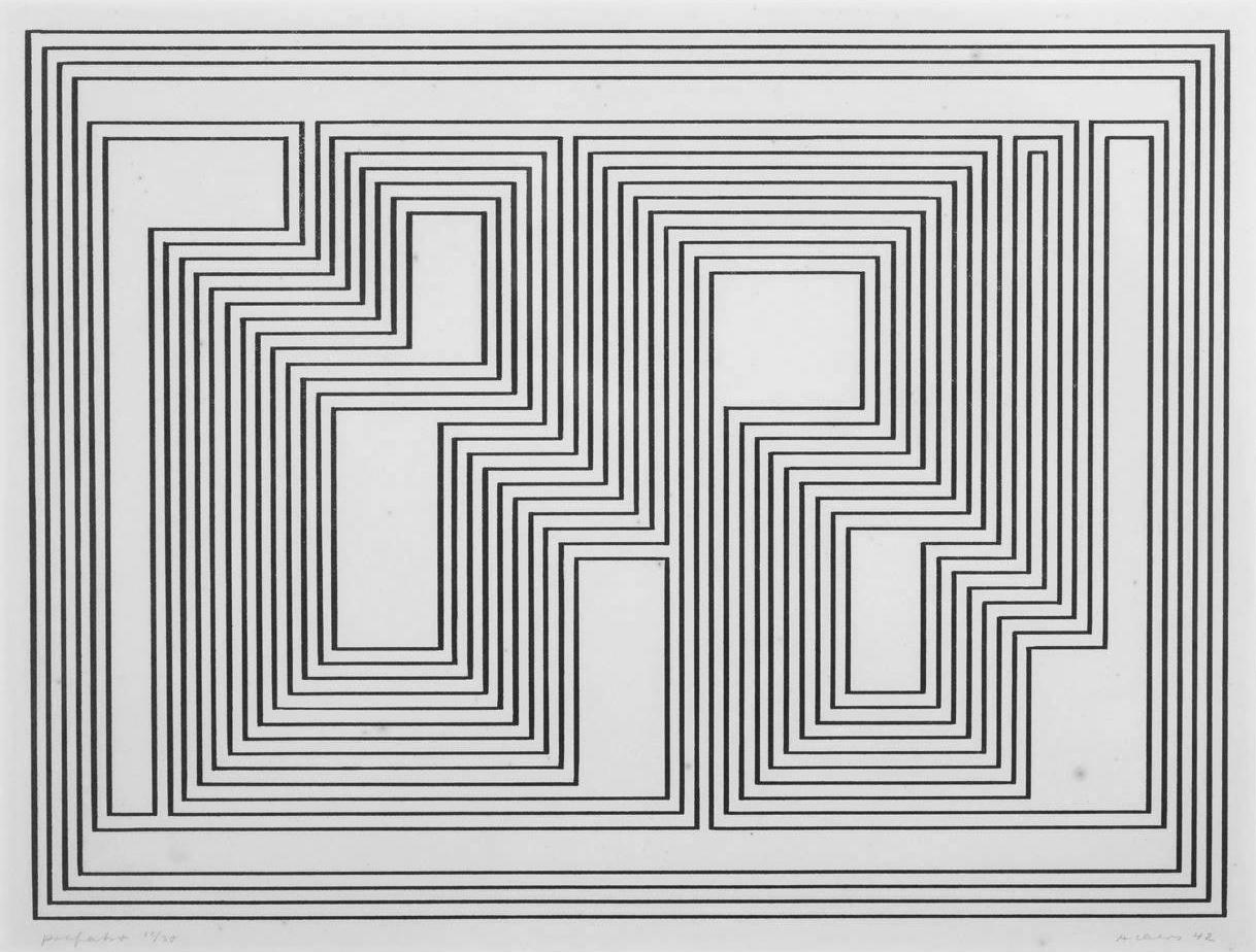 Graphic Tectonic, Albers, 1941