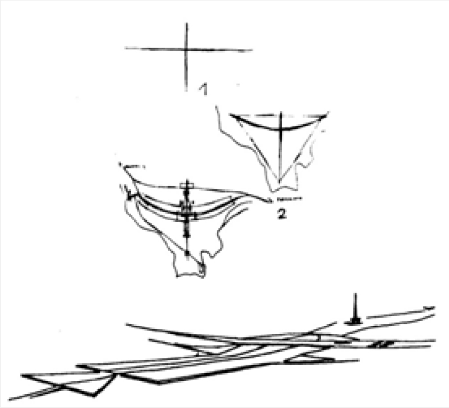 FIGURE 2 Lucio Costa's Plano Piloto Sketches
