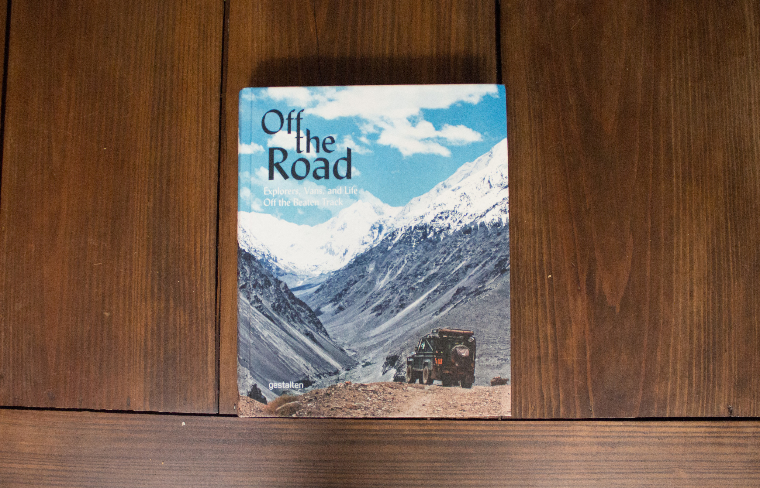 Some of my photos and writings were recently included in Gestalten's rad coffee table book titled Off the Road. It's full of a ton of crazy campers and awesome people traveling the world.You'll want this on your bookshelf. Check it out    here.