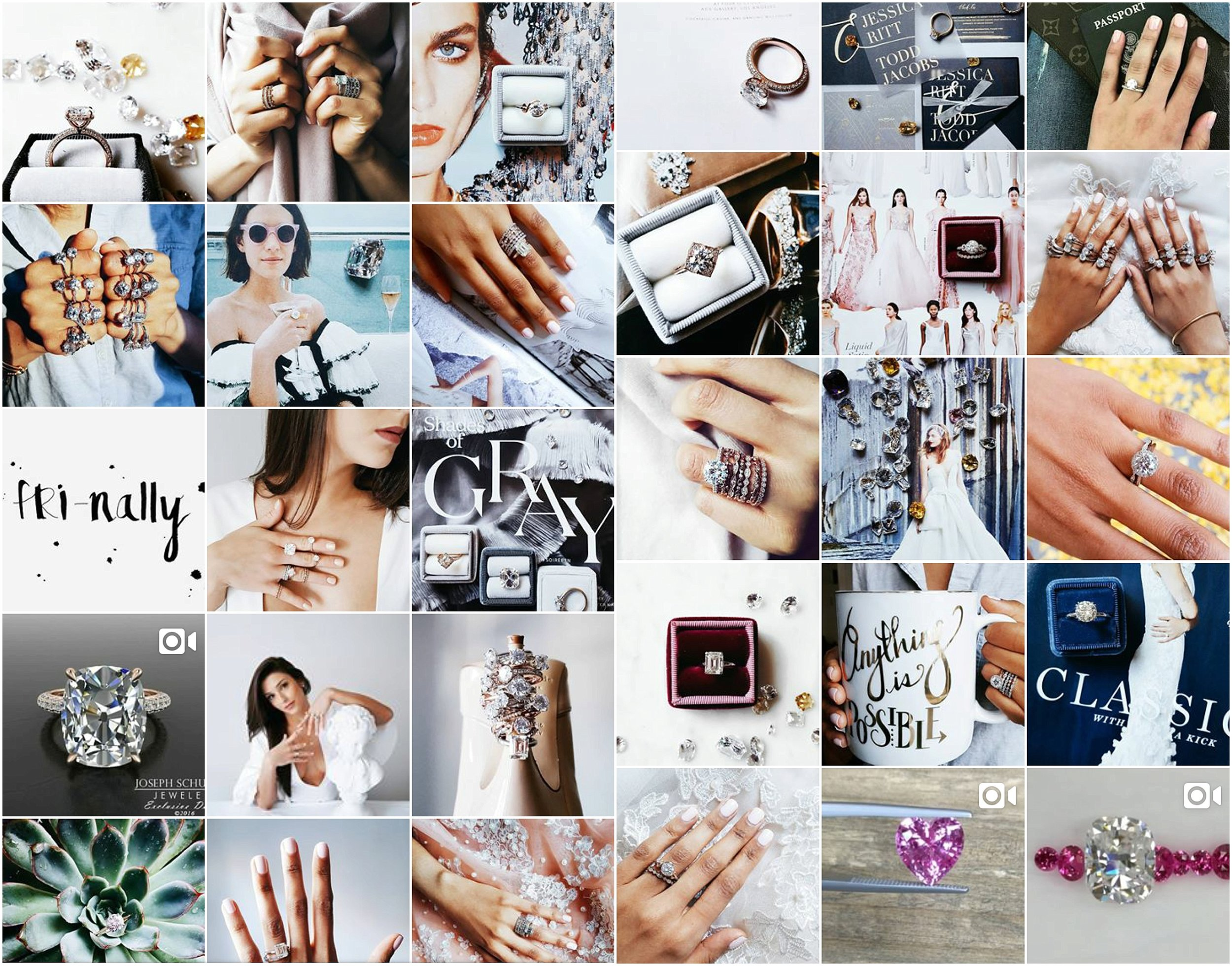 AFTER. I took the images, and then did the overhaul to their Instagram including posting, finding marketable hashtags, following accounts that would up their presence, and training them on how to maintain a beautiful feed that will help gain followers and new clients.