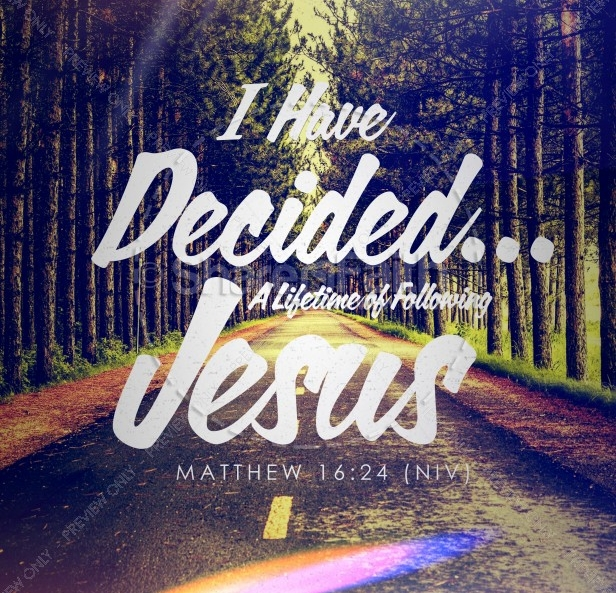 If you have made new a decision to follow Jesus, or have renewed your commitment to Jesus, this is a good place to start.