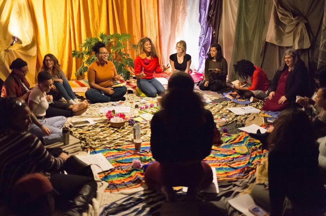 Photo from writing workshop Women's Healing Space