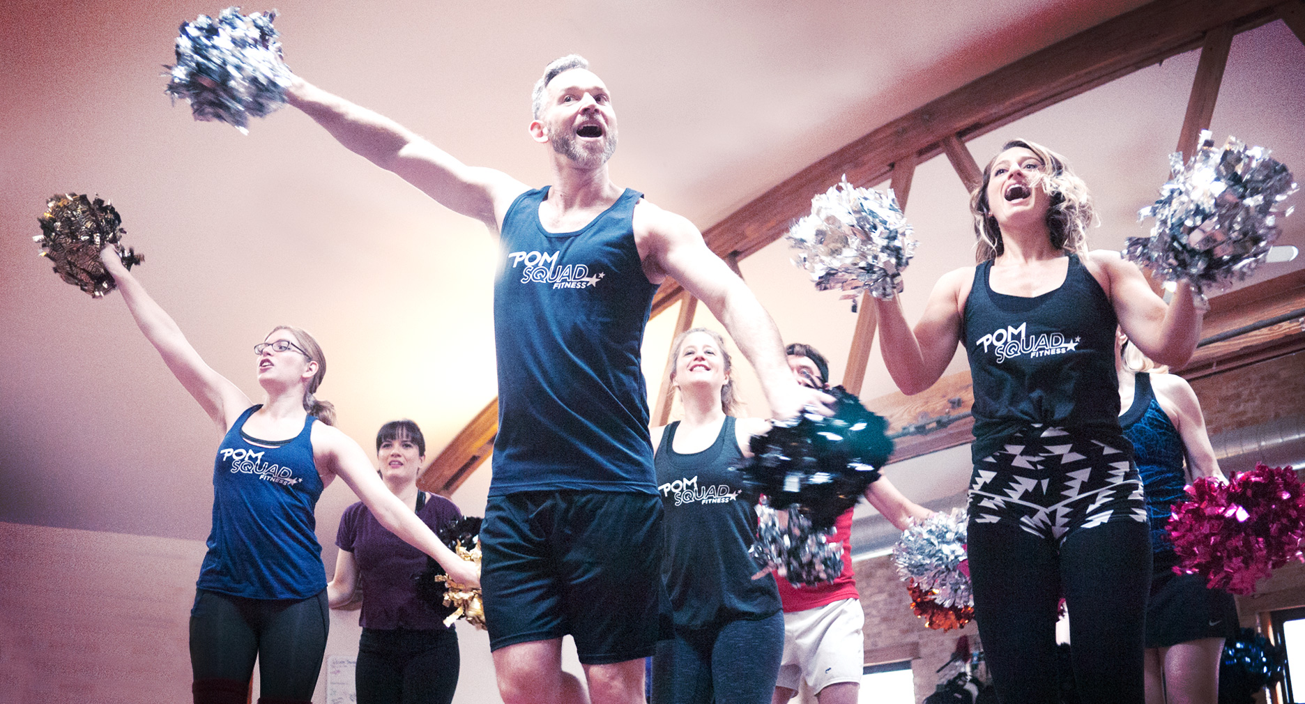KICK, BOUNCE AND DANCE YOUR WAY TO FITNESS
