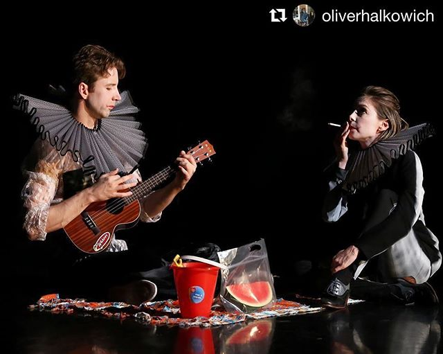 Sneak peek into the imagination of @oliverhalkowich  #Repost @oliverhalkowich (@get_repost) ・・・ Life is all we are . . . REACH is tonight. 8 pm. 601 Preston street. You can get tickets at the door 📷Amitava Sarkar