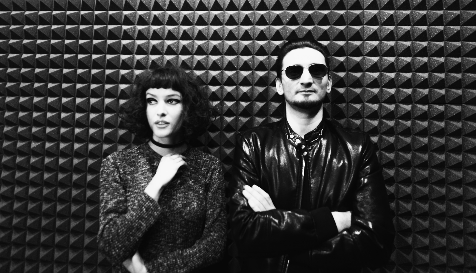 "Thy Veils - Alira Mun & Daniel Dorobantu - in the studio, recording ""In Brightness"""