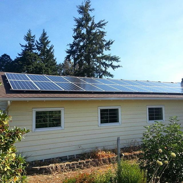 SolarPeak is bringing a new trend to the NorthWest! #solar #renewableenergy #oregon