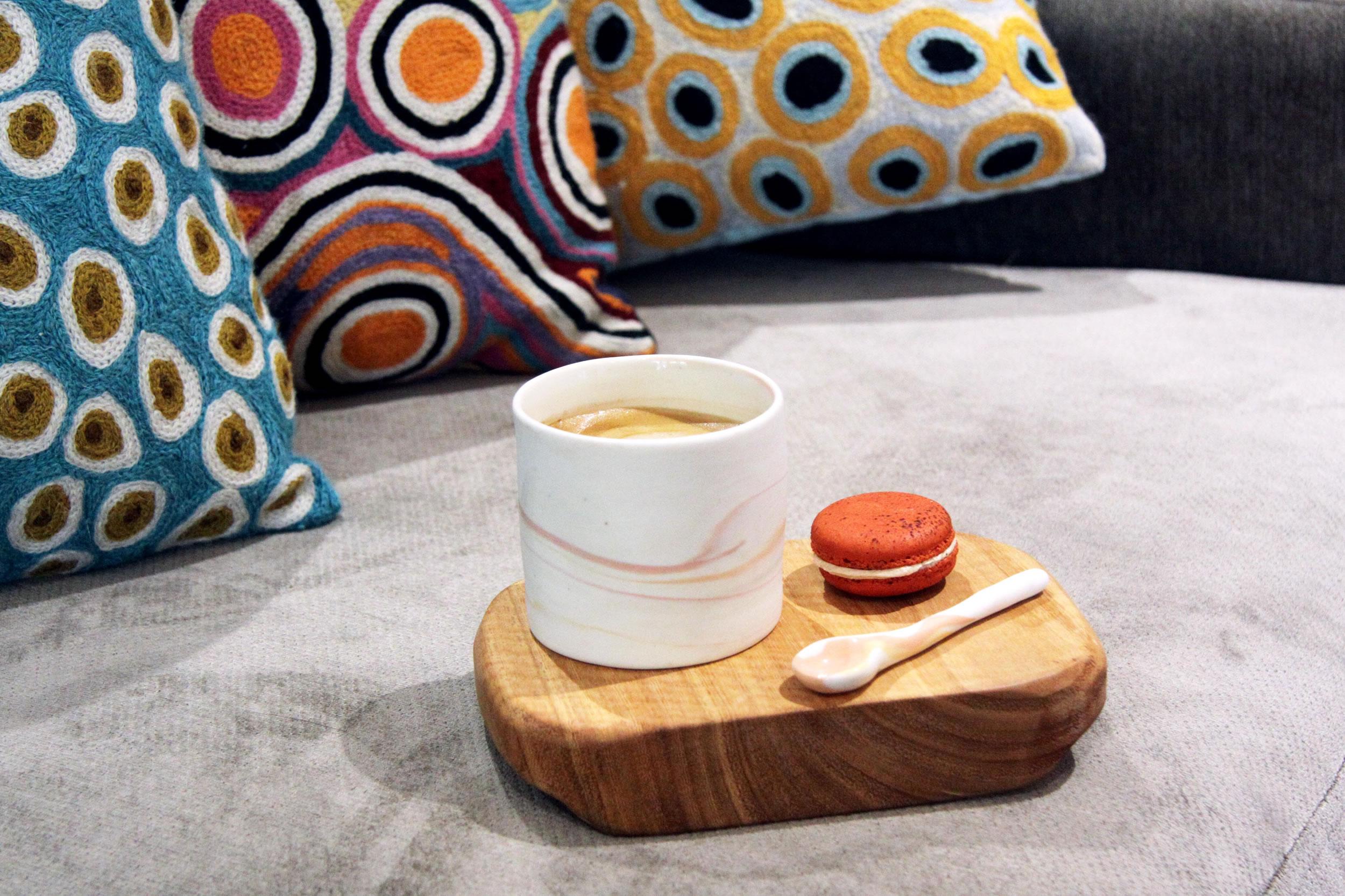 Porcelain Marbled Coffee Mug