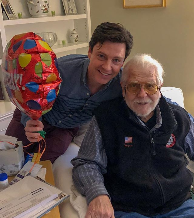 Pulled off a great surprise visit for @hiramball1 birthday! Great to spend time with the folks over the Holiday weekend, and please help me in wishing him an amazing day!