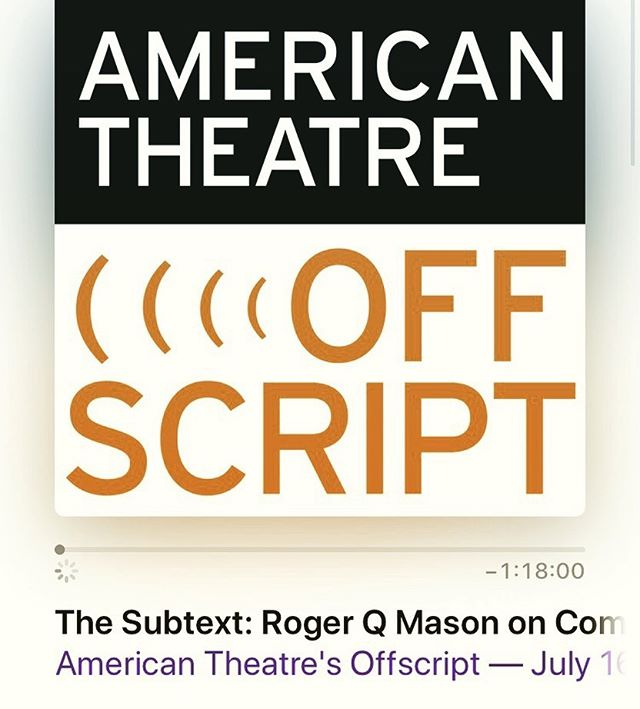 This is a really stunning interview that Brian James Polak did with Roger Q. Mason for American Theatre Magazine's Podcast! Def gives this a listen, and come join us at @accesstheater for the final week of performances of @whitedressplay !!! DM me for discount code 🌟🌟🌟