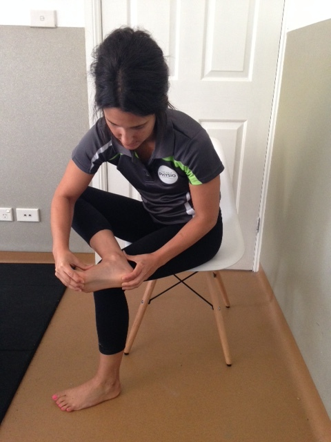 Stretching The Bottom Of The Foot