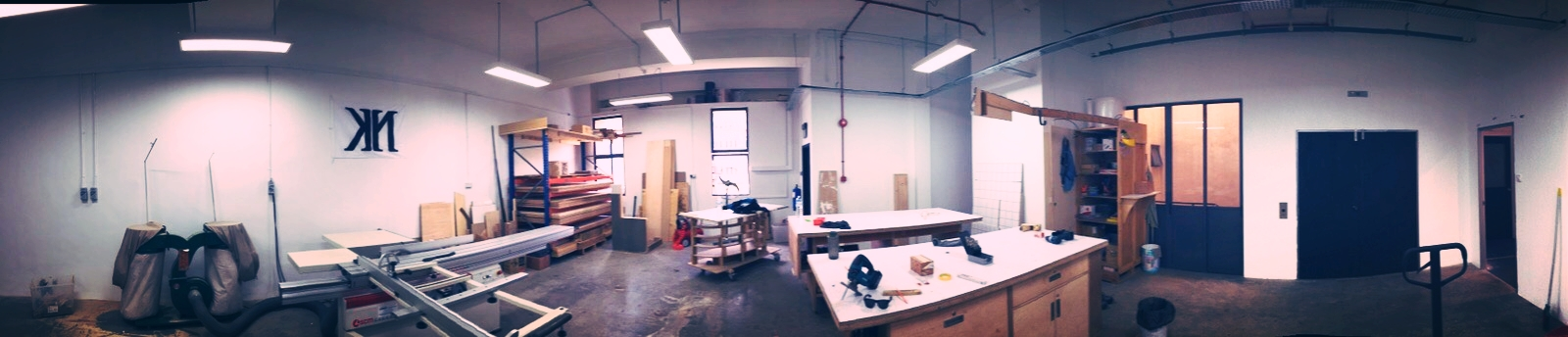 Our completed new workshop.