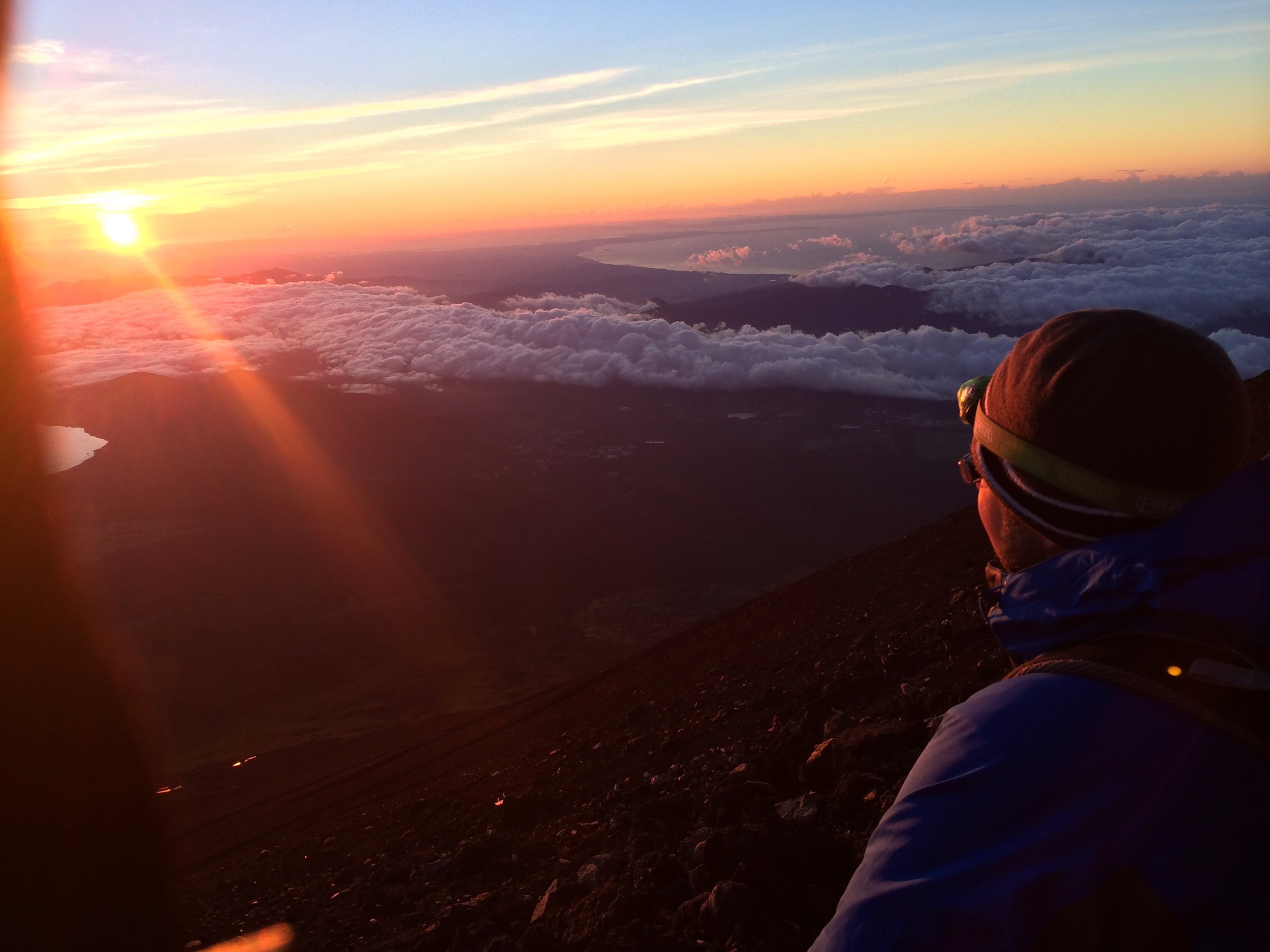 Climbing Mt. Fuji was about as close to a transcendental spiritual experience that I have ever had. And if there were such a thing as a perfect moment, this would be mine.