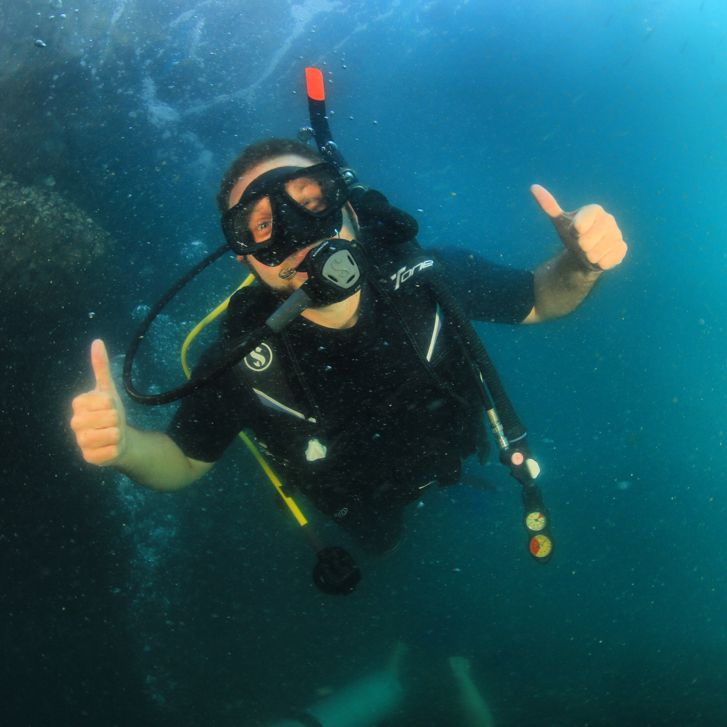 Photo Credit:Nicolas Voisin  Photo taken during my Open Water certification dive with Easy Divers in Koh Samui, Thailand
