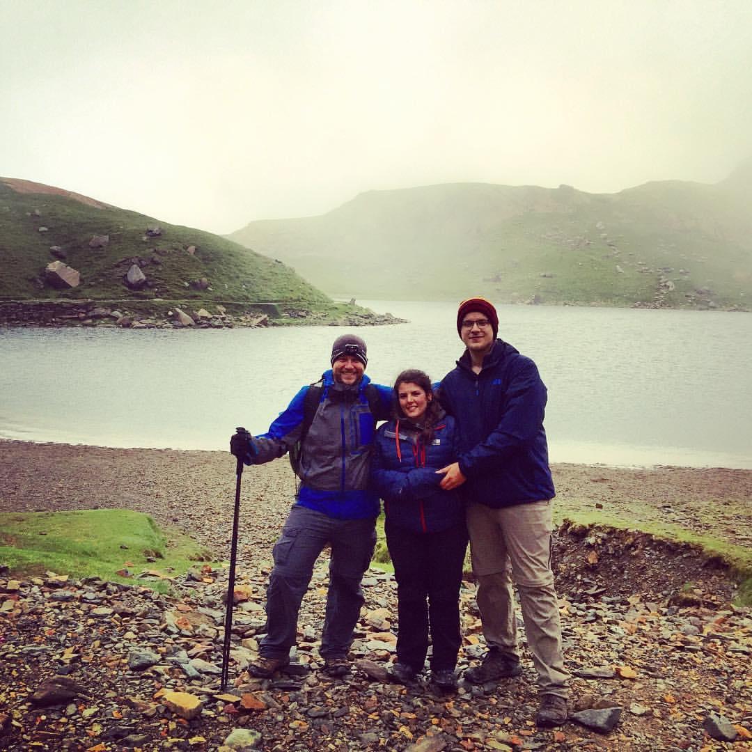 Freezing cold and rain and we still conquered Mount Snowdon!! #travel #unitedkingdom #wales #walesadventure #snowdonia #mountsnowdon #mountaineering #themountaincoach #realbadasses (at Snowdon)
