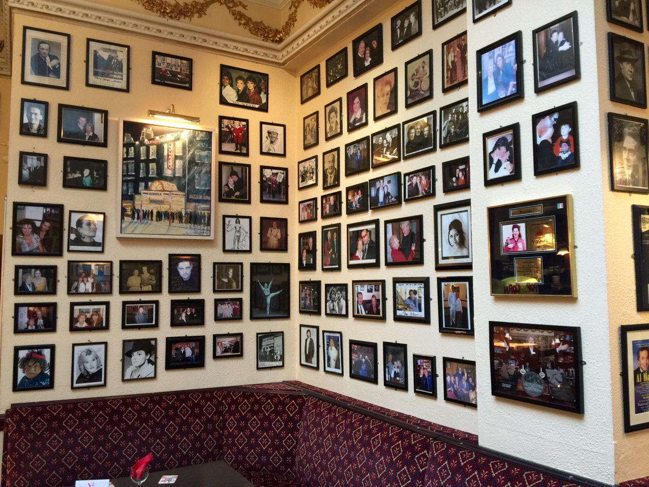 Maureen's Bar - Dublin, Ireland    Hidden in the back of the Olympia Theatre in Dublin is Maureen's bar. Catering to all sorts for seventy years, Maureen can still be seen on the premises. Make sure to buy a drink and say hi if you're nearby!