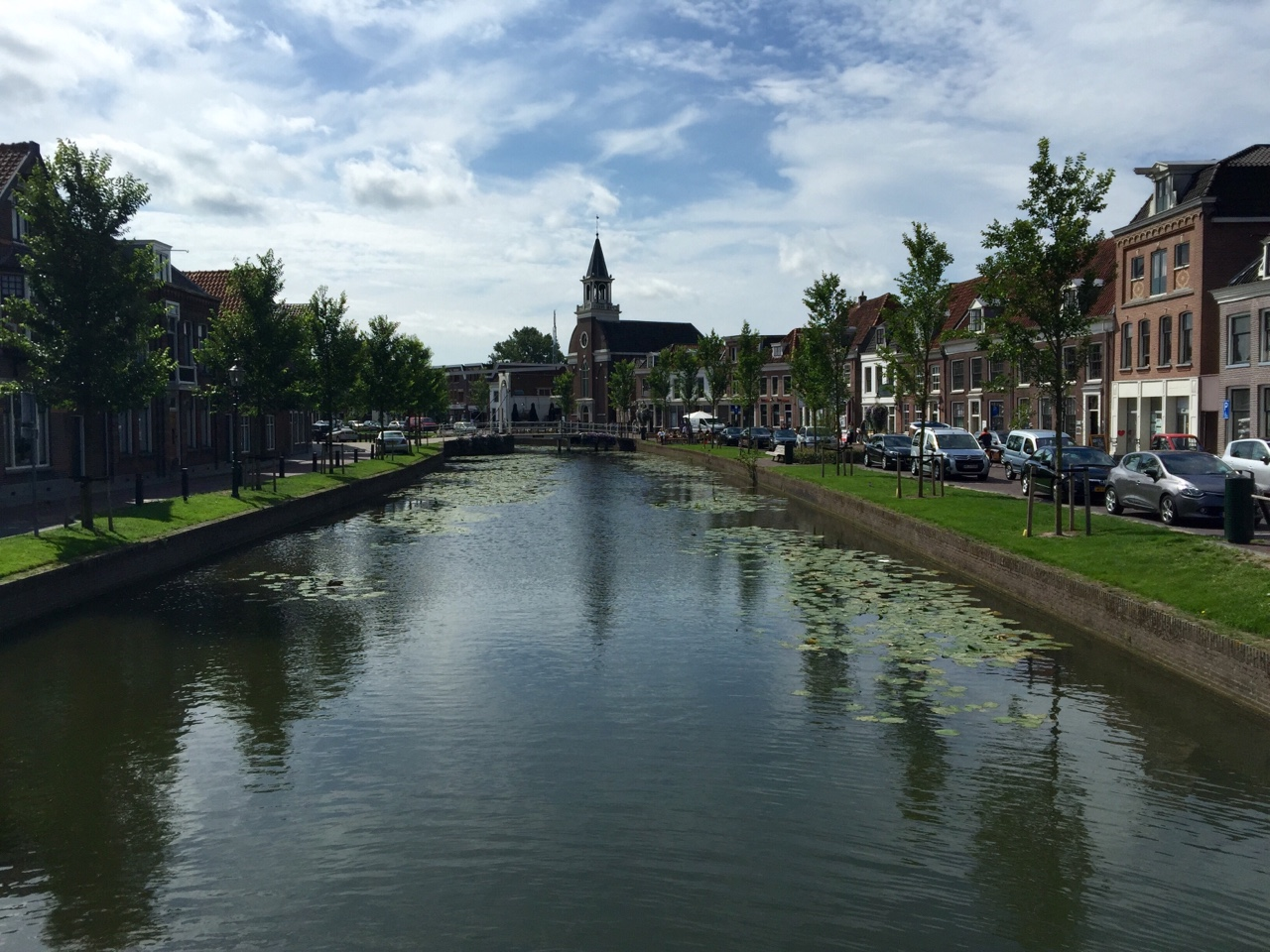 Weesp, Netherlands     Home to a close friend of mine that I met on the Camino, and to some excellent cheese and ice cream shops, Weesp is indicative of the serenity missing from Amsterdam. The little rivers weaving intricate latticework through the city itself appear to continue endlessly when viewed from within the city itself. Such a beautiful place!