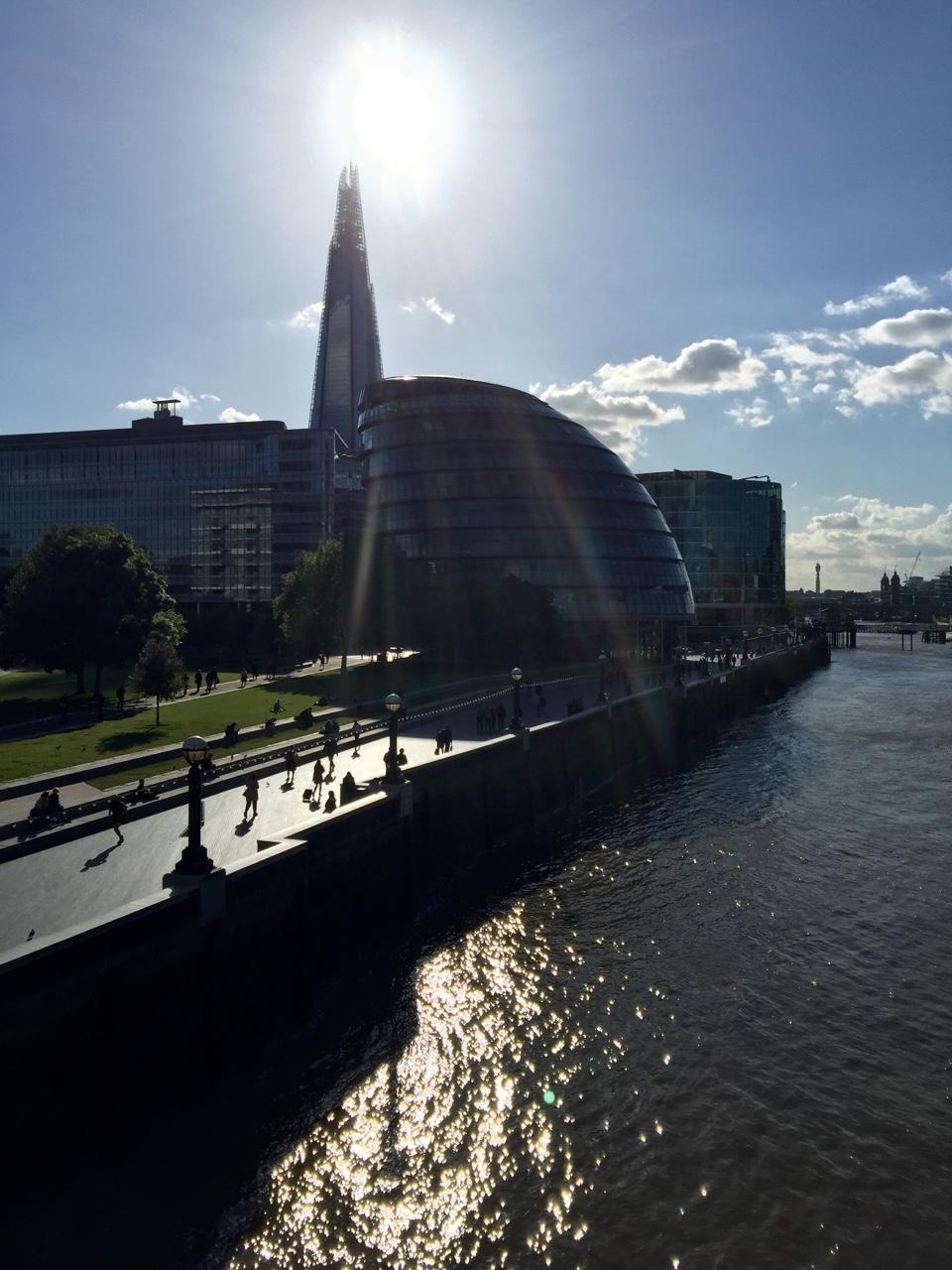 View from Tower Bridge - London, United Kingdom