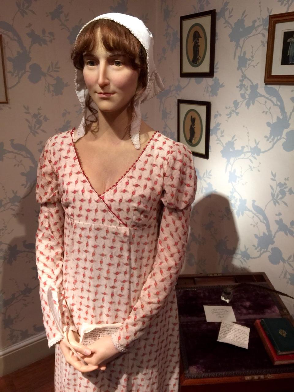 Jane Austen Waxwork - Jane Austen Centre in Bath, United Kingdom