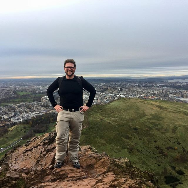 Still climbing mountains wherever I go :) School is going very well and is *extremely* busy, so it's nice to have an opportunity to do a small trip like this. I miss my travel family, and I hope that you're well! #travel #edinburgh #scotland #arthursseat #hiking #outdoors #happy