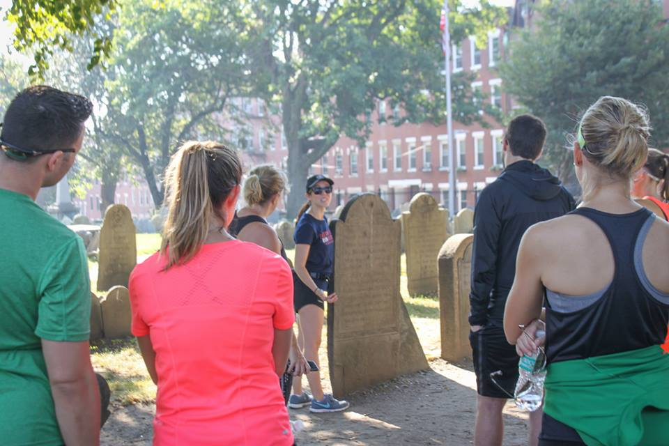 Checking out MORE gravestones!
