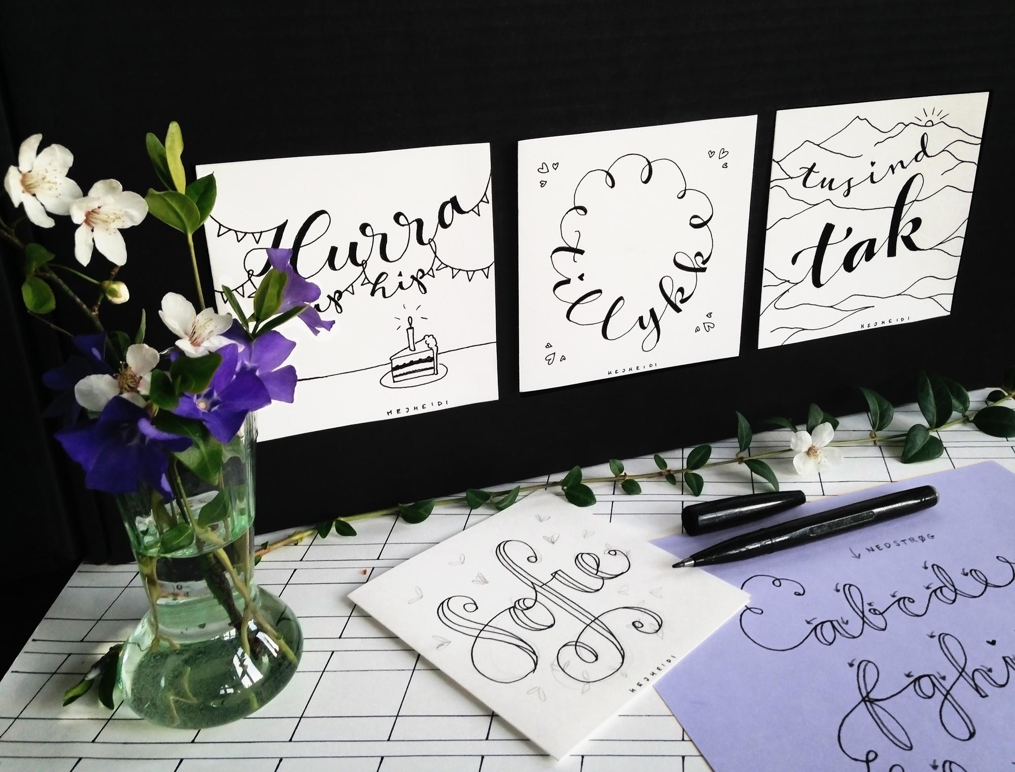 Hejheidi Fake Kalligrafi Kursus