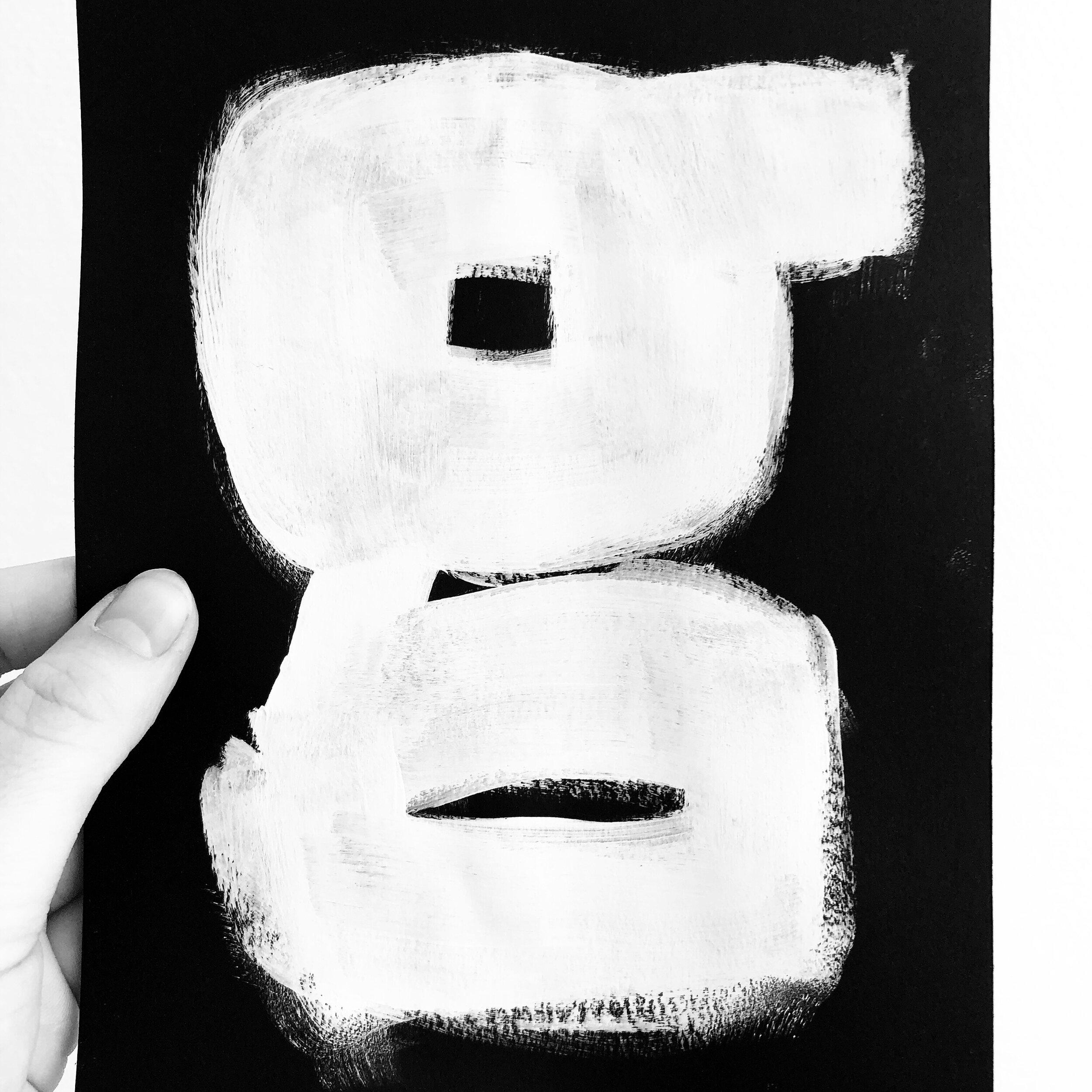 Kursus hvor vi designer kreative bogstaver