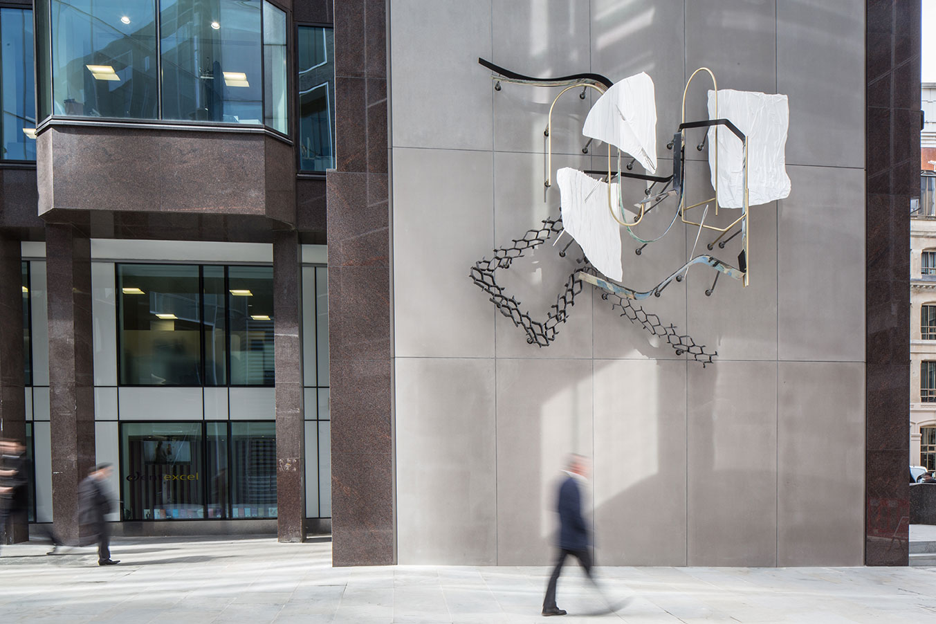 Angel Court Sculpture, London