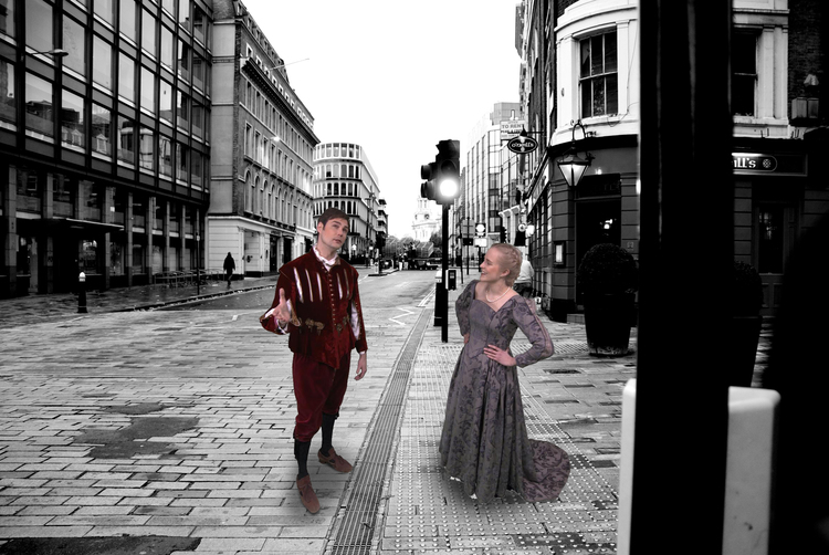 Romeo and Juliet in Augmented Reality from INDE's HeroMirror.