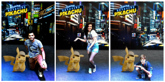 Pikachu_Augmented_Reality_Snapshots