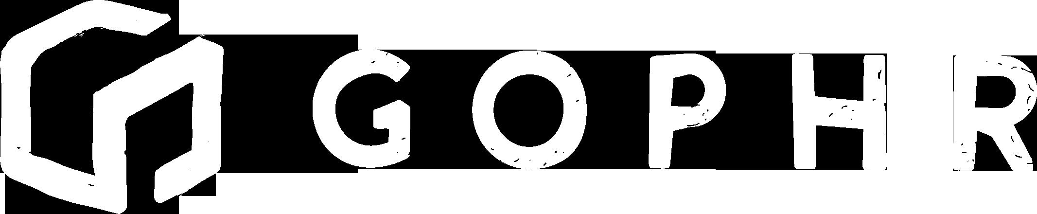 Gophr-logo-white