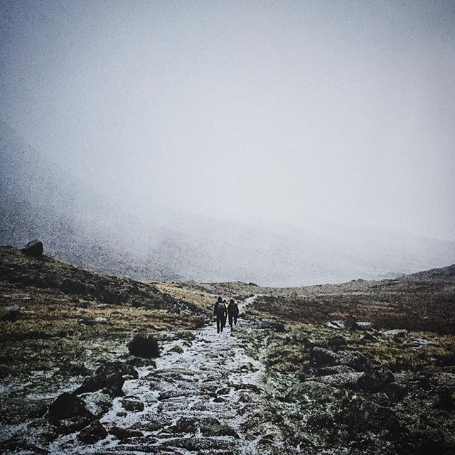 Wales! It's cold and it's hailing Snowdonia, Wales // #mountain #winter #snow #adventure #explore #hike #nature