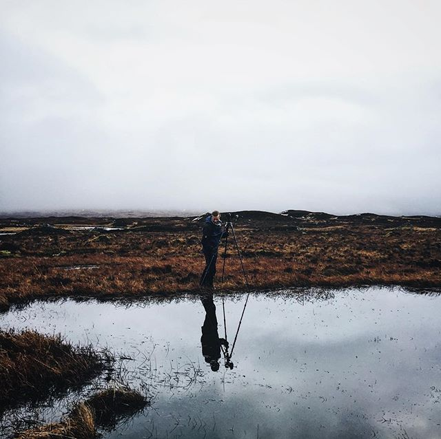 Hanging out with Joe Cornish in Glencoe recently! Glencoe, Scotland // #vsco #vscocam #scotland #highlands #nature #travel #hike #adventure #explore #photography #mountains #glencoe #lake #winter