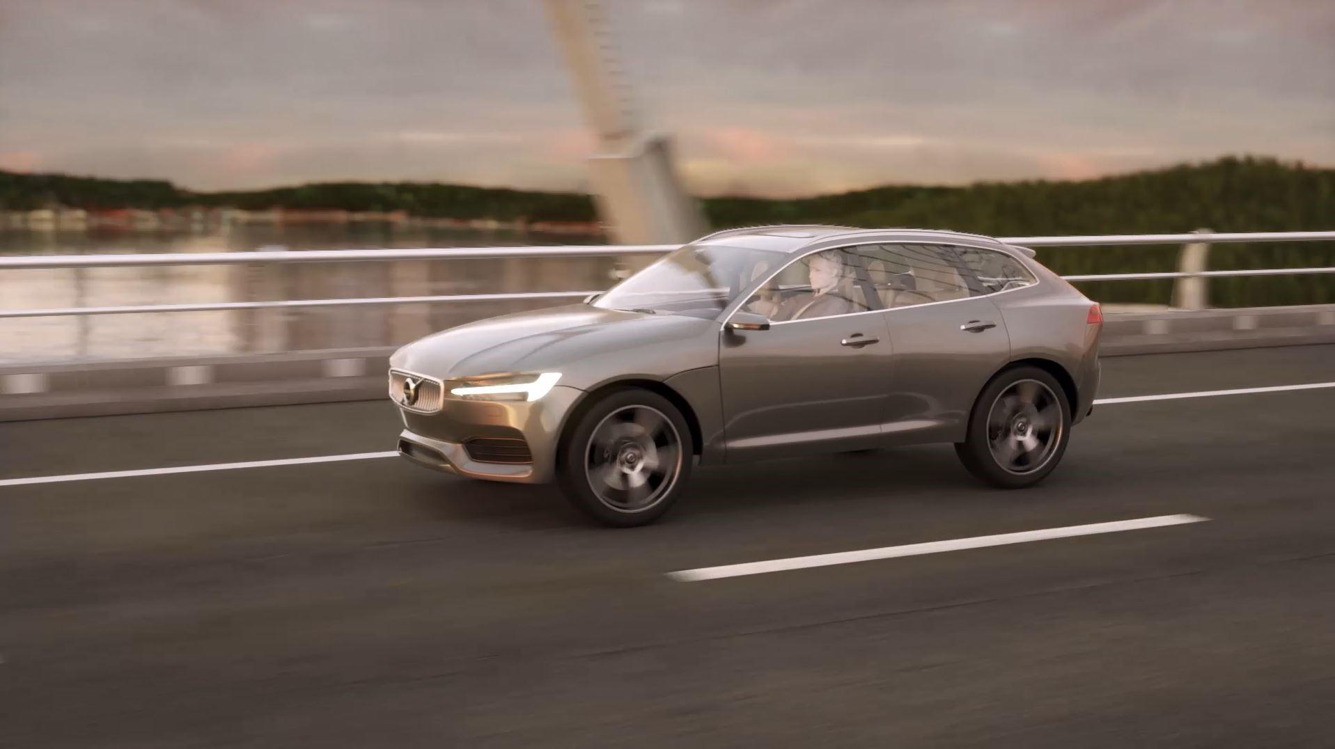 Volvo Pilot Assist footage