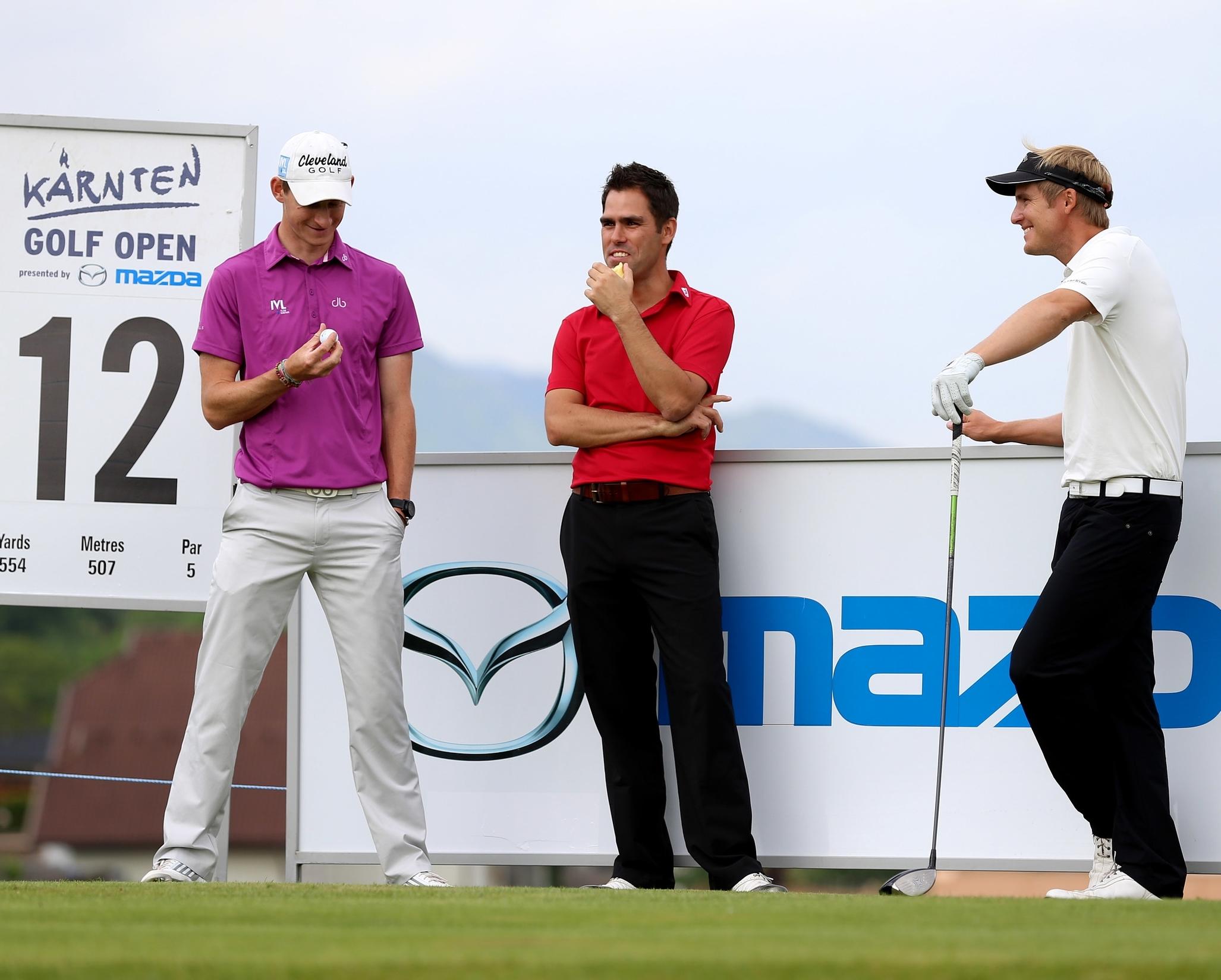 Karnten Golf Open hole 12 Tom & Florian