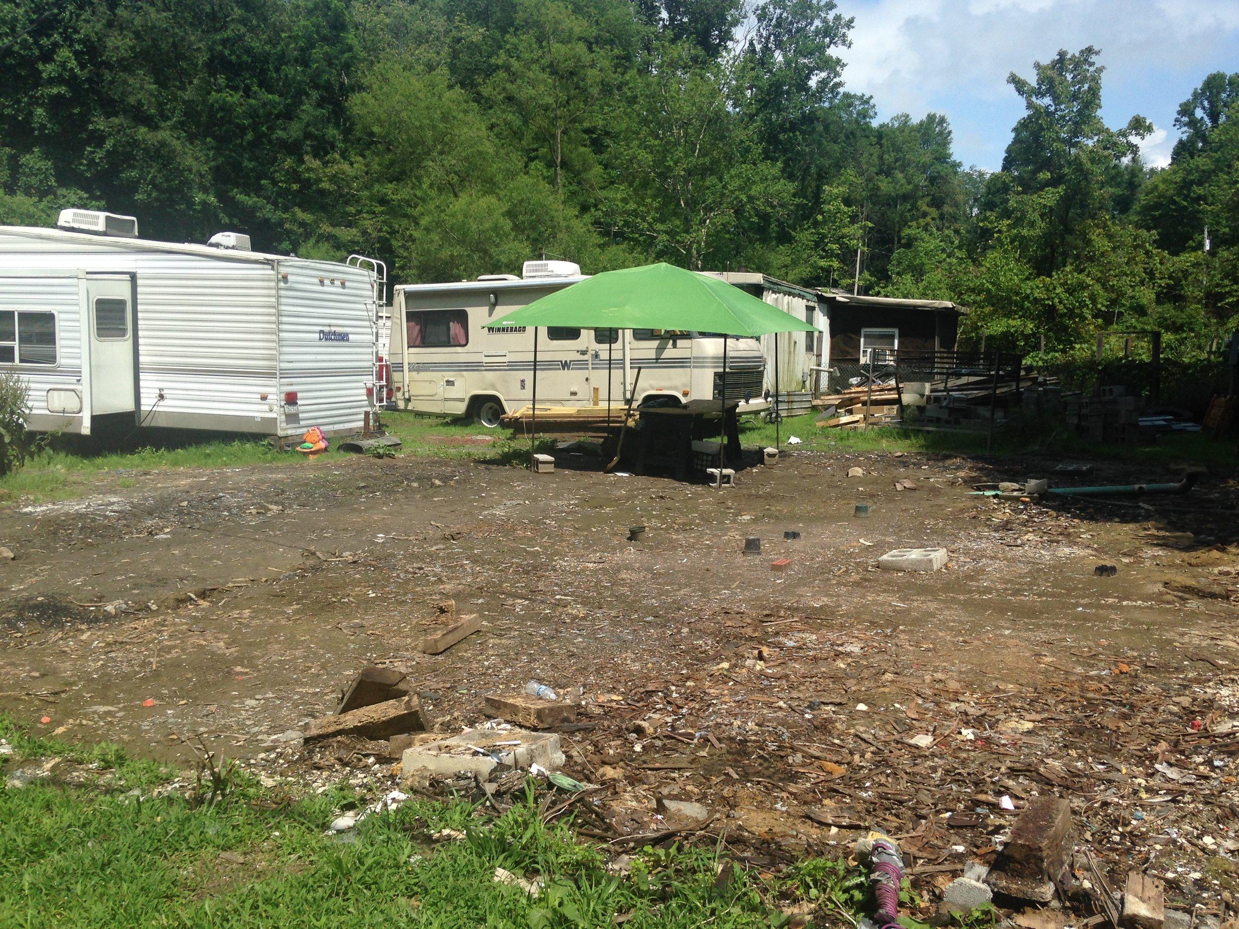5. Everson from Talbott Rd. across burned out homesite.JPG