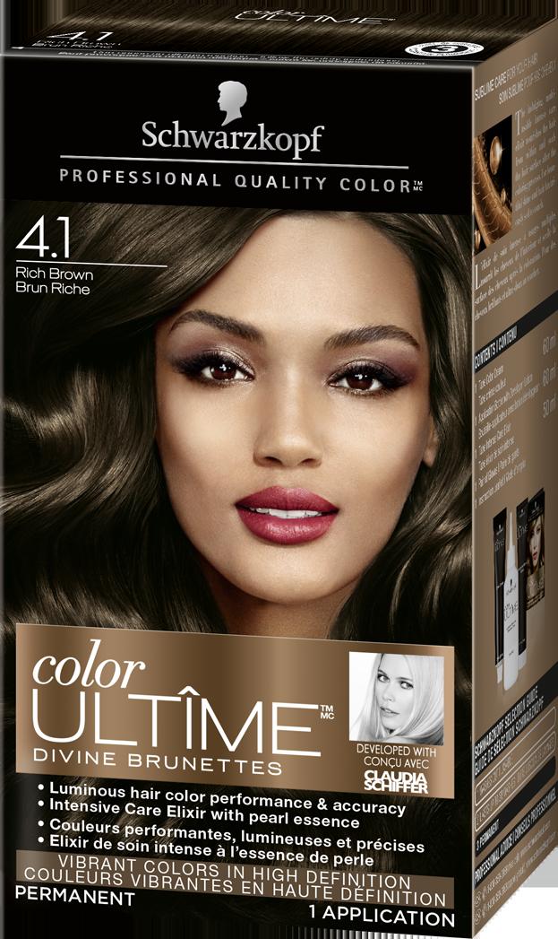 Schwarzkopf Colour ULTIME Rich Brown 4.1