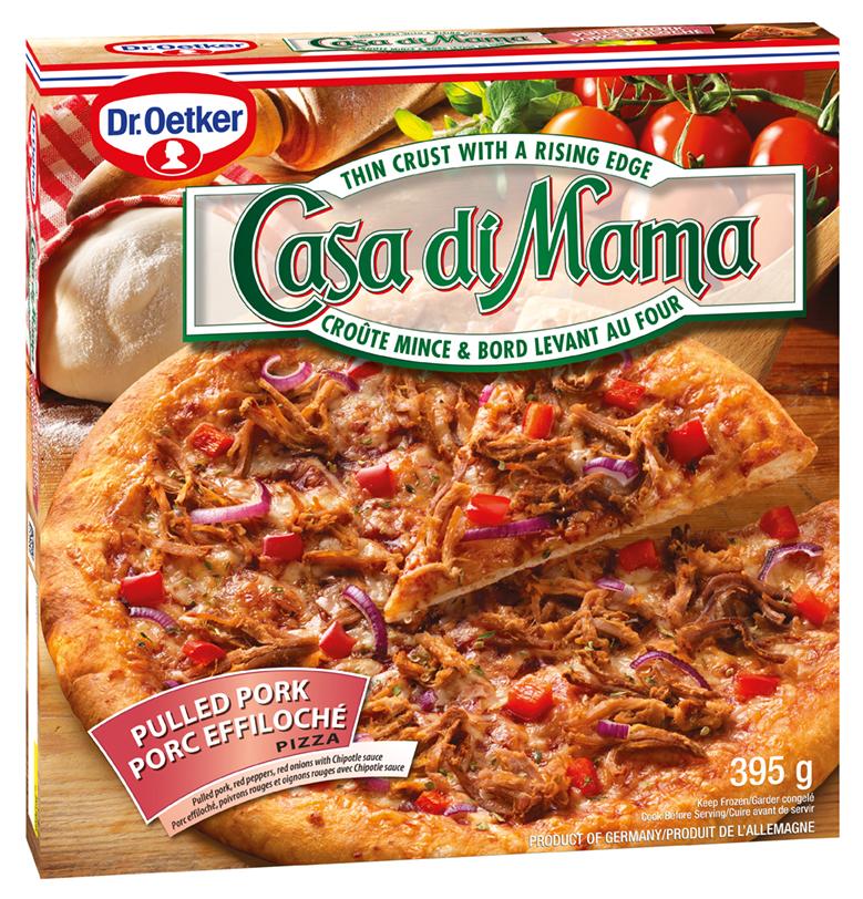 Dr. Oetker Casa di Mama Pulled Pork Pizza