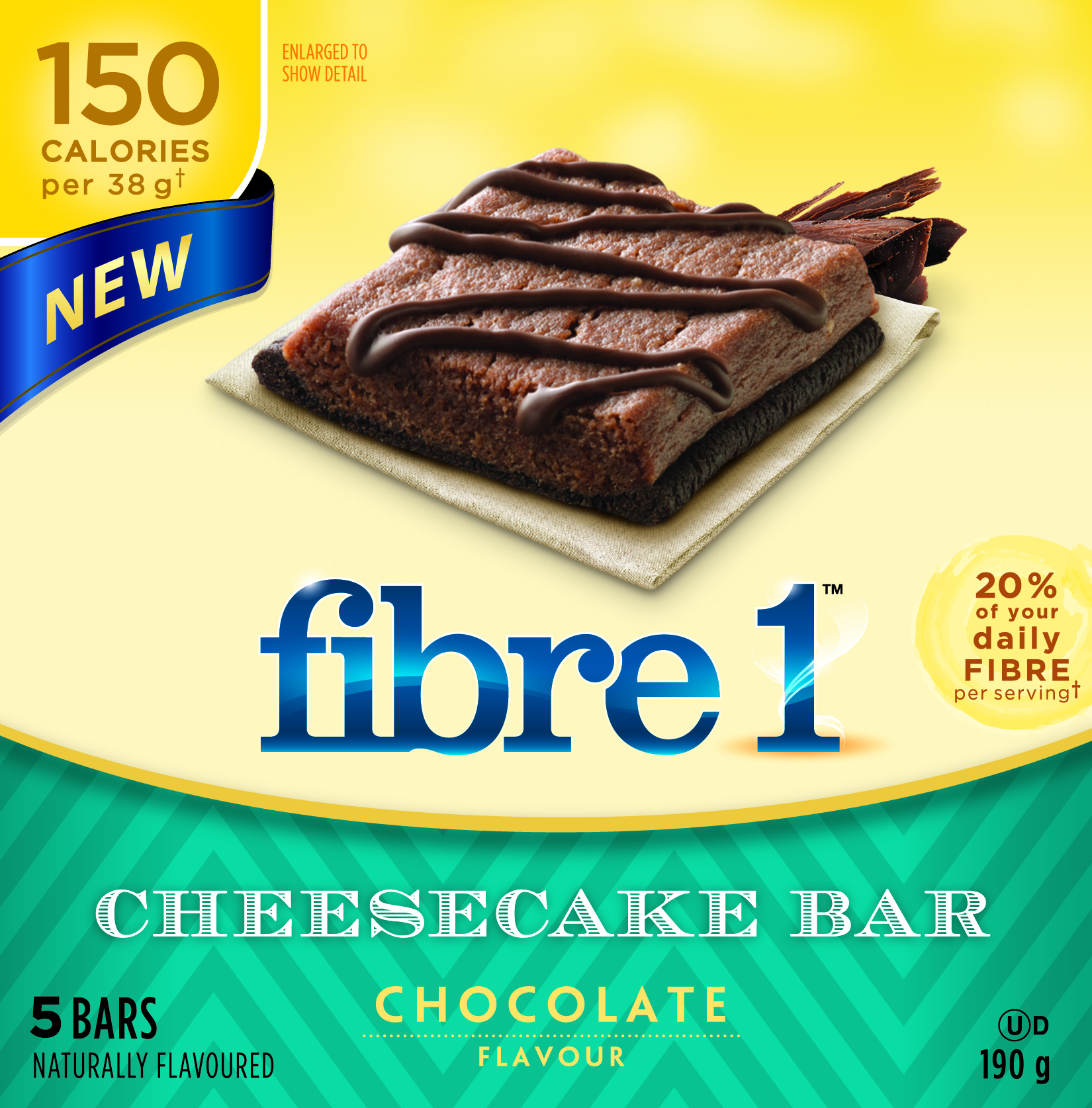 Fibre1 Cheesecake Bars