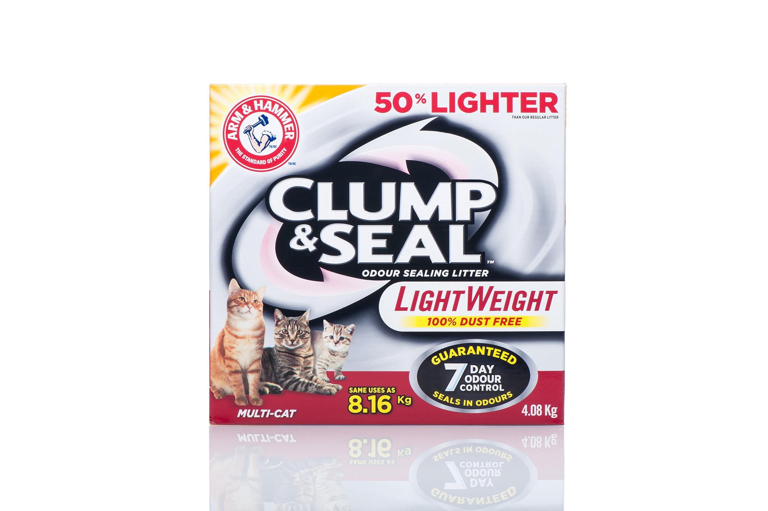 ARM & HAMMER Clump & Seal LightWeight Cat Litter