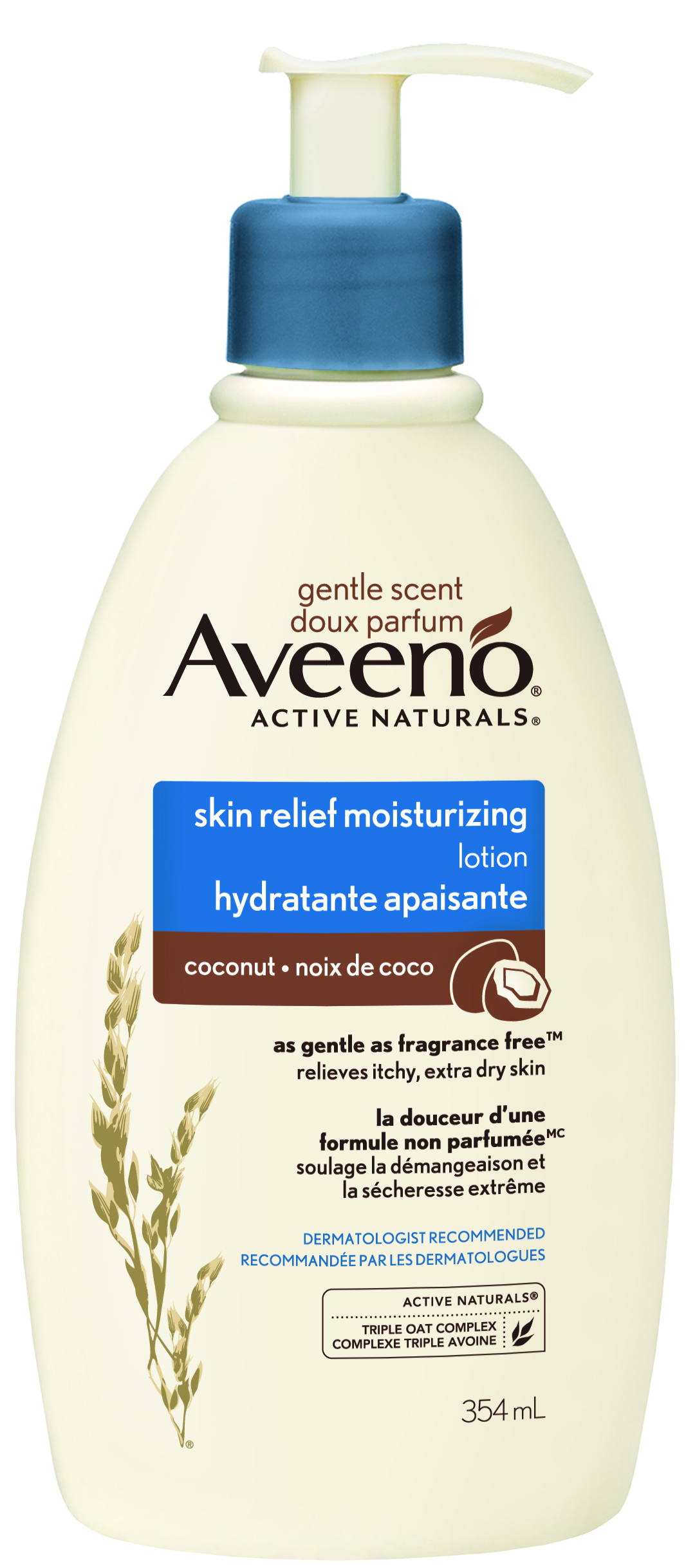 Aveeno Skin Relief Gentle Scent Coconut Lotion