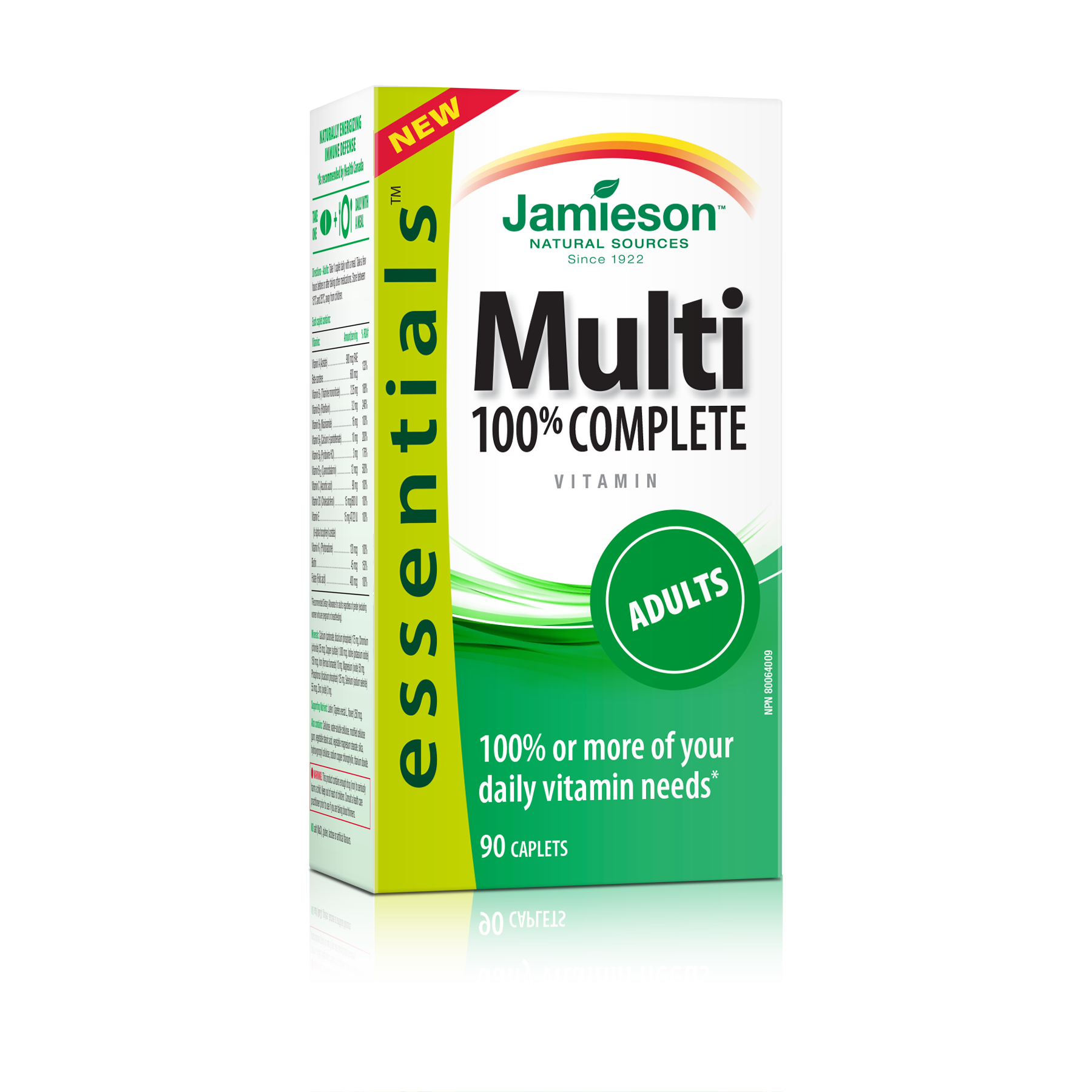 Jamieson 100% Complete Multivitamin