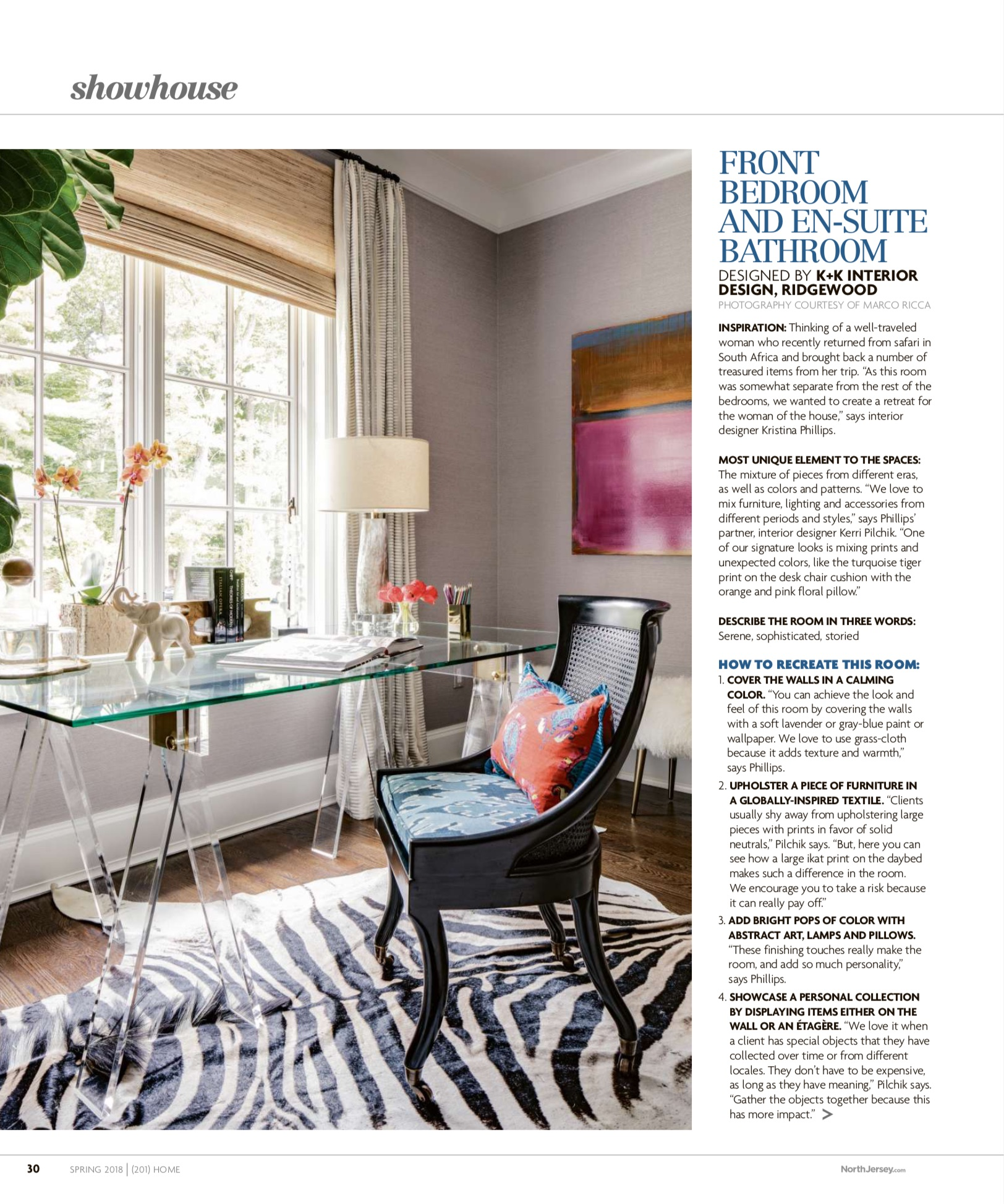 201 Home Magazine Spring 2018 K K Interior Design