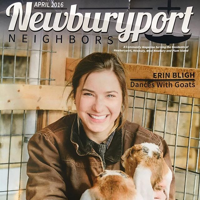 This lovely publication was in my mailbox this Easter morning. Thanks so much to #newburyportneighborsmagazine for helping to share our story. #NBPT #brookewhicherphotography
