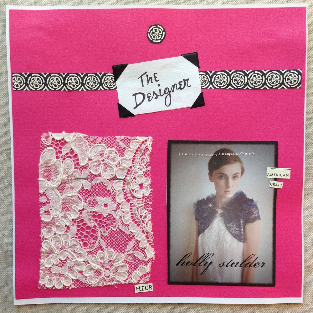 A Wedding Scrapbook by Rebecca Pitts