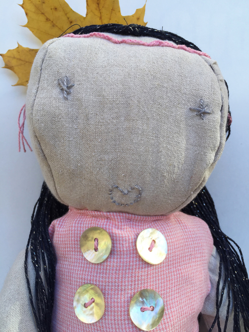 Crafting Outside the Comfort Zone: Making a Rag Doll